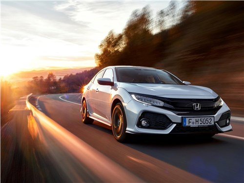 Новый Honda Civic - Honda Civic 2017 Европейская штучка