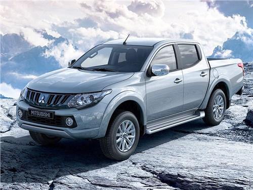 В России появился новый Mitsubishi L200