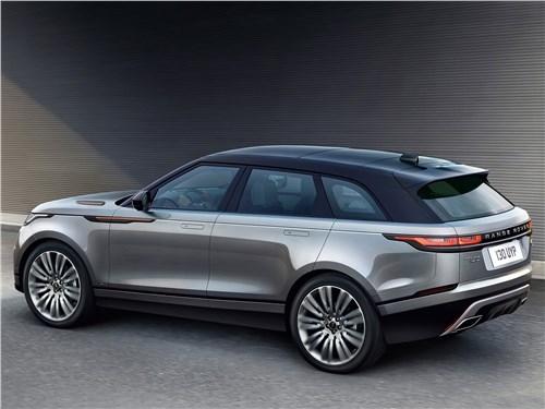 Land Rover Range Rover Velar 2018 вид сбоку сзади