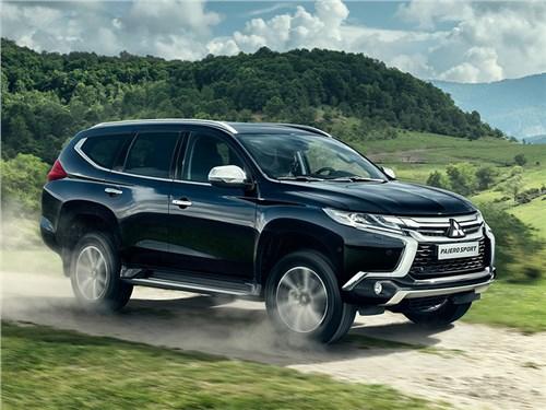 Российская премьера дизельного Mitsubishi Pajero Sport