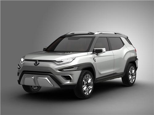 Предпросмотр ssangyong xavl concept 2017 вид спереди