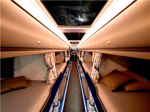 Конструкторам удалось вписать в салон Skyliner 20 спальных мест