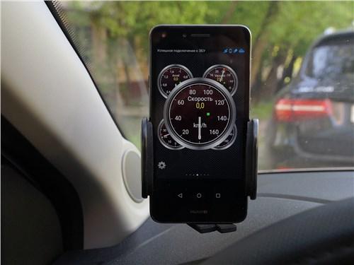 Программа типа Torque на смартфоне дает возможность тестировать автомобиль даже на ходу