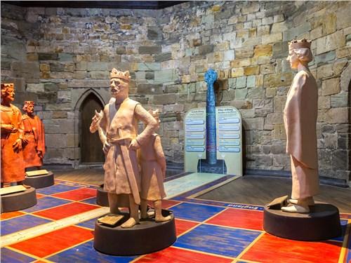 Залы замка дают представление о том, каков был его уклад столетия назад