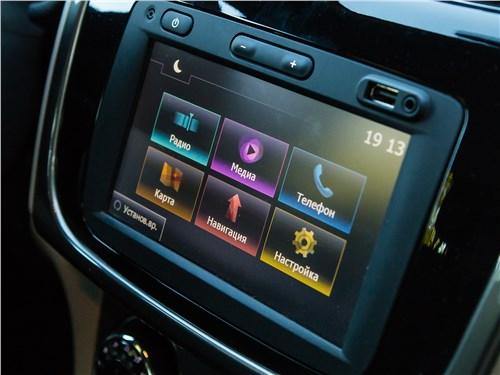 Renault Logan 2014 центральная консоль
