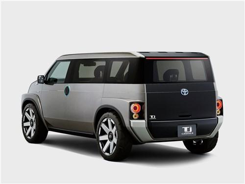 Предпросмотр toyota tj cruiser concept 2017 вид сзади