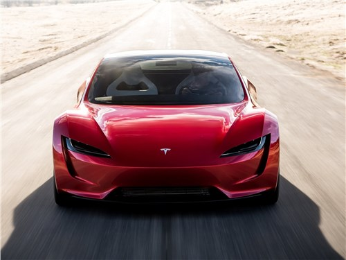 Tesla Rodster Concept 2020 вид спереди