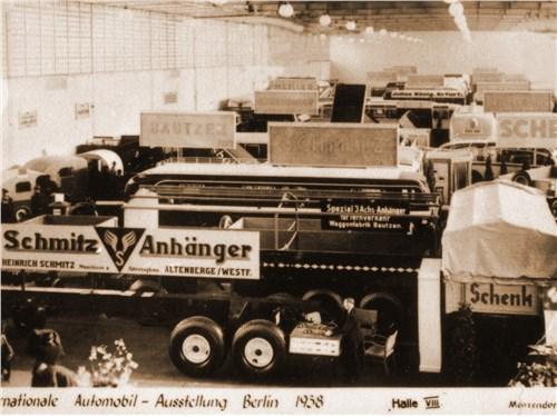 Стенд компании на Берлинской международной выставке 1938 года