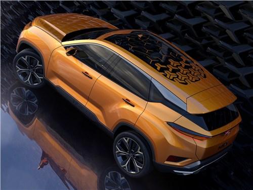 Предпросмотр tata h5x concept 2018 вид сзади сверху