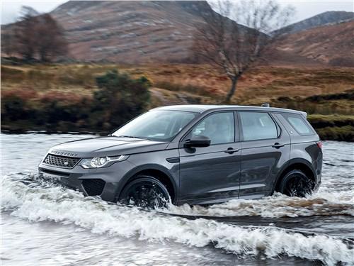 Land Rover Discovery Sport в полной мере унаследовал внедорожные гены своих «предков»
