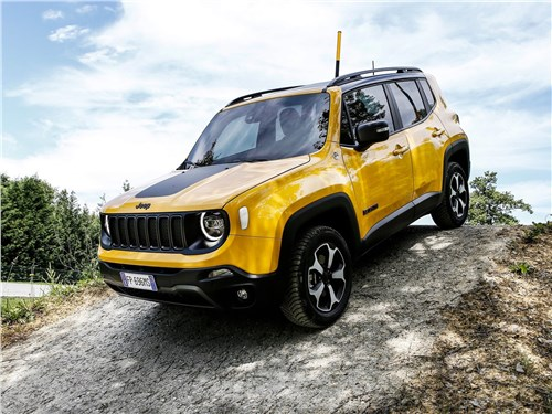 Предпросмотр jeep renegade 2019 вид сбоку