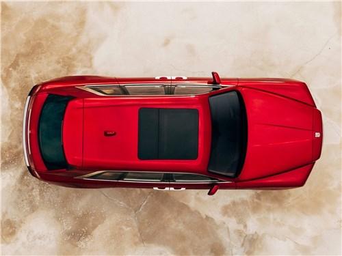 Rolls-Royce Cullinan 2019 вид сверху