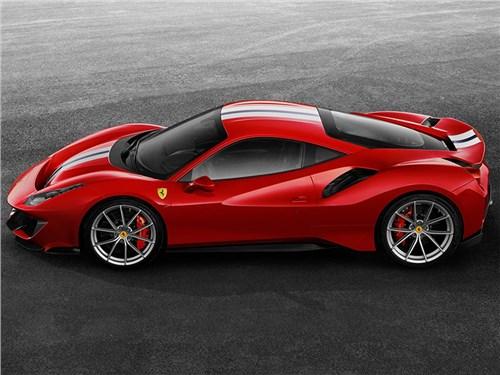 Новость про Ferrari 488 Pista - Ferrari 488 Pista Spider 2018
