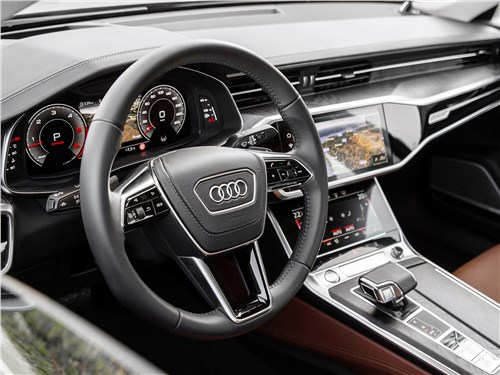 Audi A6 2019 салон