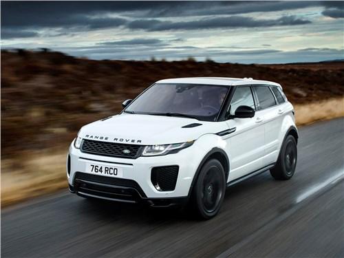 Компактный Range Rover Evoque готов бросить вызов и бездорожью, и скоростным шоссе