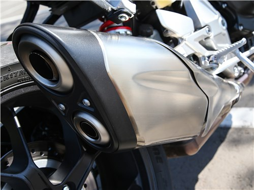 Honda CB1000R Neo Sports Cafe выхлопная труба