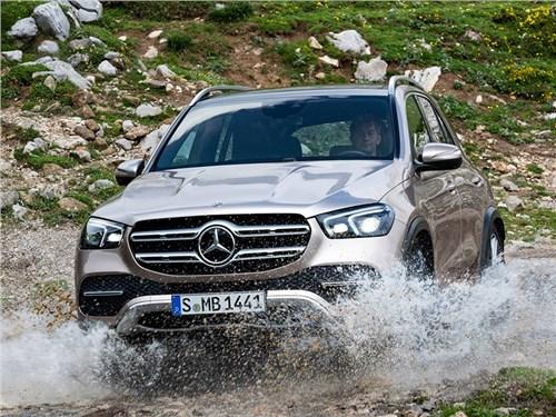 Новость про Mercedes-Benz GLE - Mercedes-Benz GLE 2020
