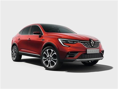 Renault Arkana Concept 2018 Как зажигают звезды