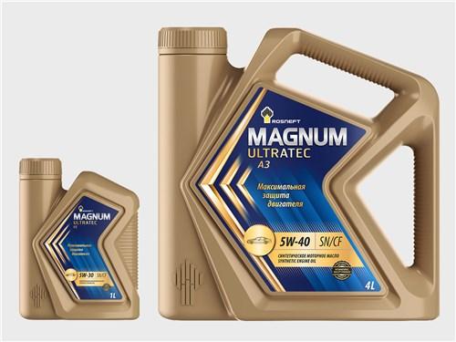 ROSNEFT MAGNUM ULTRATEC FE 5W-30; ROSNEFT MAGNUM ULTRATEC A3 5W-40