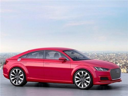 В Audi TT станет на пару дверей больше