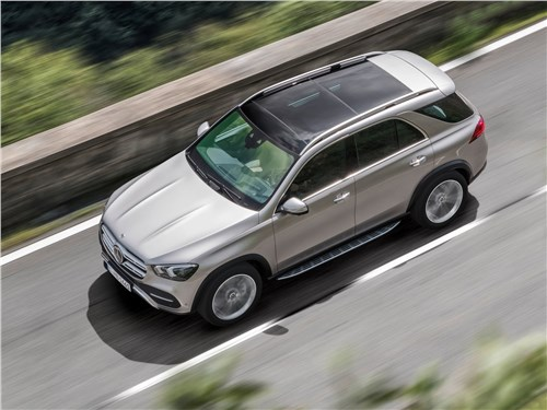 Mercedes-Benz GLE 2020 вид сверху