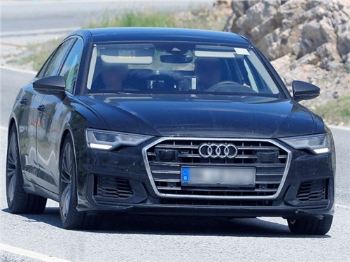 Новый седан Audi S6 замечен на тестах без камуфляжа