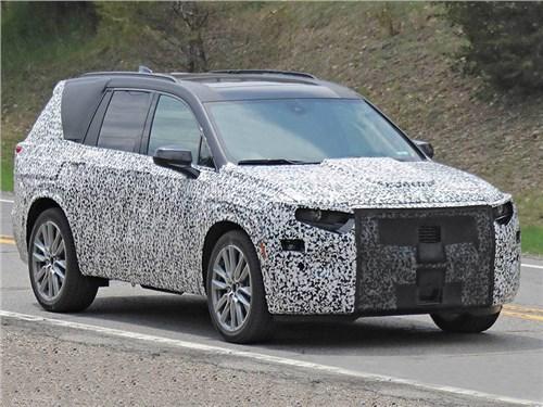 Cadillac покажет кроссовер XT6