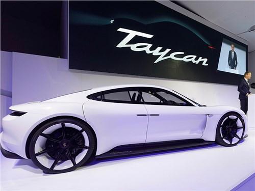 Электрический Porsche получит версию Turbo