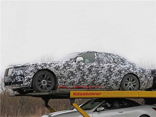 Новость про Rolls-Royce Ghost - Rolls-Royce Ghost «утёк»