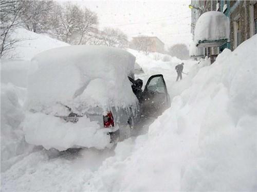 Водителям стоит остерегаться снегопада