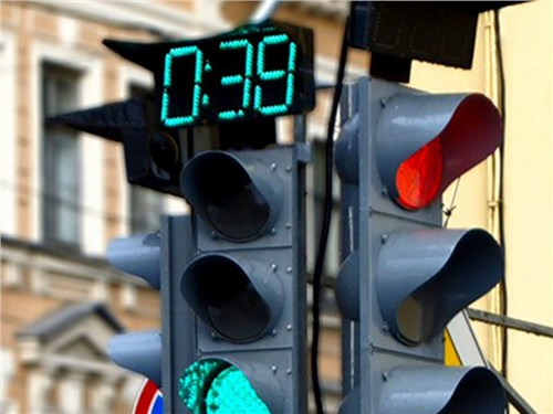 В России появятся умные светофоры