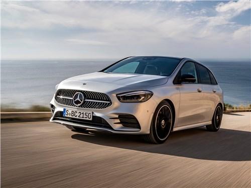 Mercedes-Benz B-Class 2019 вид спереди