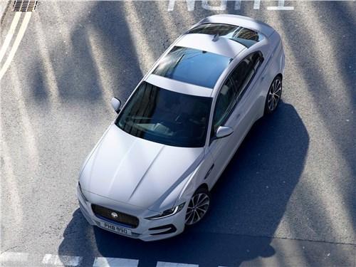 Предпросмотр jaguar xe 2020 вид сверху