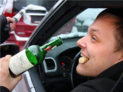 У пьяных водителей начнут отнимать автомобили