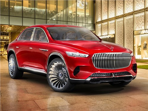 Mercedes-Benz Vision Maybach Ultimate Luxury Concept 2018