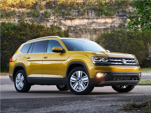 Volkswagen отзывает кроссоверы Teramont