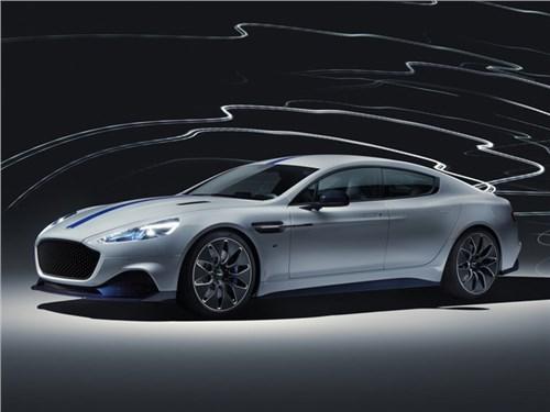Представлен первый серийный электрокар Aston Martin