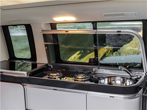 Предпросмотр mercedes-benz v-klasse 2020 кухня в салоне