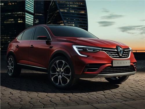 Стали известны все модификации Renault Arkana