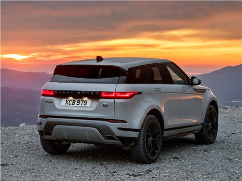 Land Rover Range Rover Evoque 2020 вид сзади