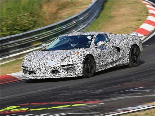 Chevrolet опубликовал «исторический» тизер нового Corvette