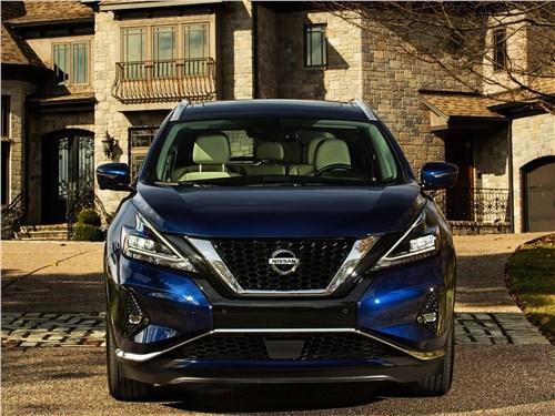 Nissan Murano 2019 вид спереди