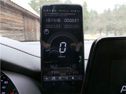 Одно из приложений для смартфона, демонстрирующее скорость и другие данные без подключения к Интернету