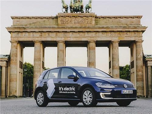 Volkswagen запустил собственный каршеринг