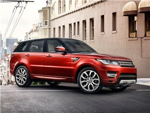 В Сети появились первые фото Range Rover Sport