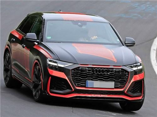 Новость про Audi Q8 - Спортивный Audi Q8. Его засекли!