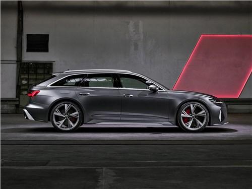 Audi RS6 Avant 2020 вид сбоку