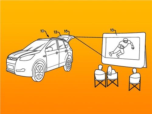 Новый Ford: автомобиль и проектор