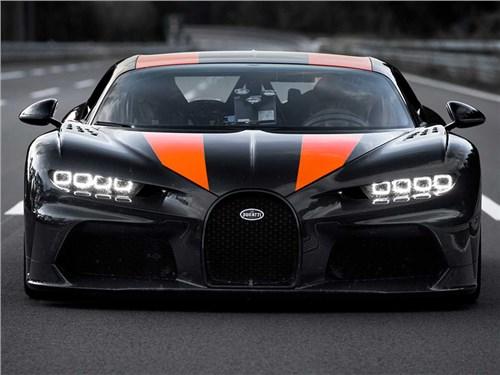 Bugatti Chiron - снова рекордсмен