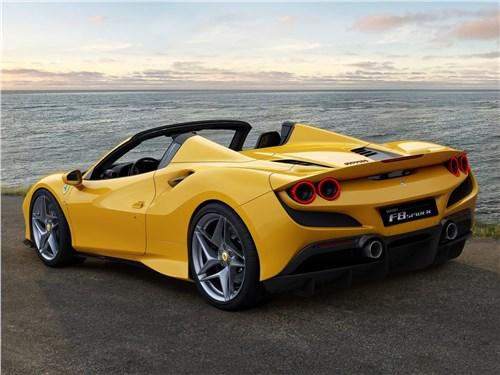Ferrari F8 Spider 2020 вид сзади